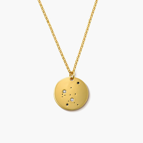 Aquarius-Zodiac-Necklace-with-Diamonds-Gold-Plated