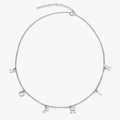 choker a - z necklace